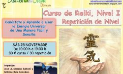 Curso Reiki 1. Repetición de Nivel