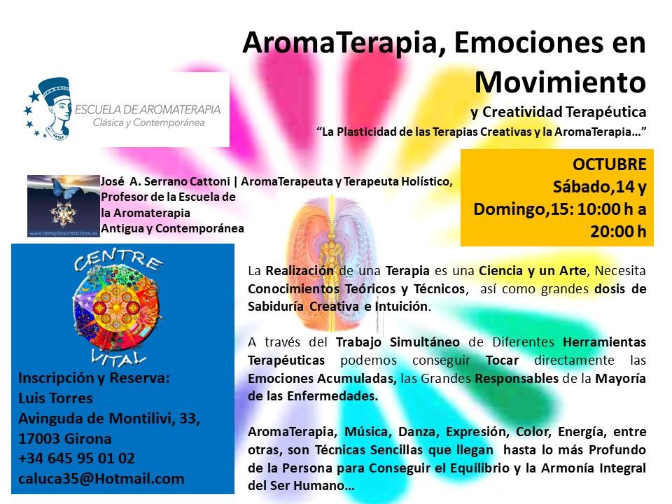 Aromaterapia y emociones