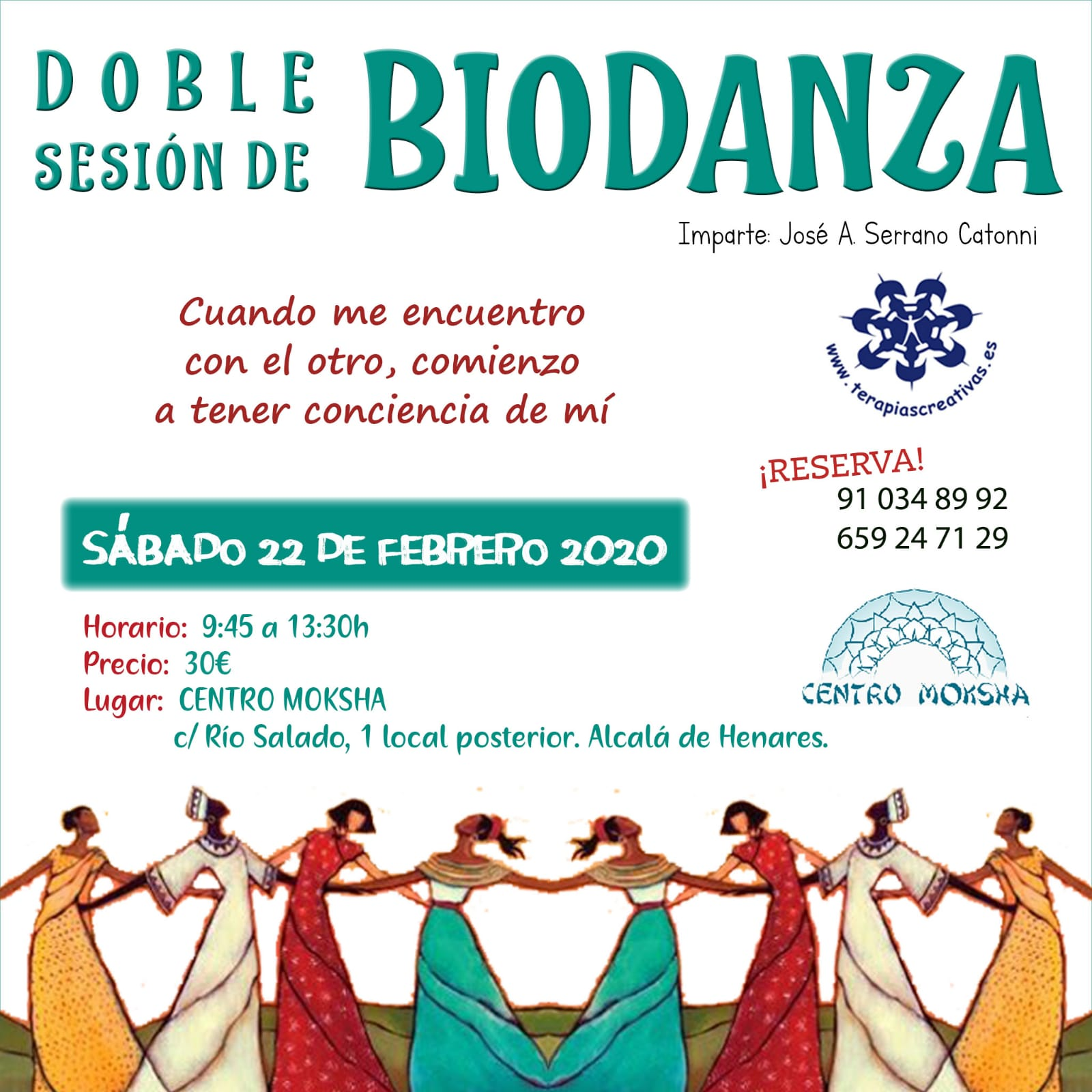 Taller BioDanza-Sesión Doble