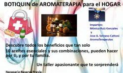 Cartel Botiquin AromaTerapia Hogar-Creativas