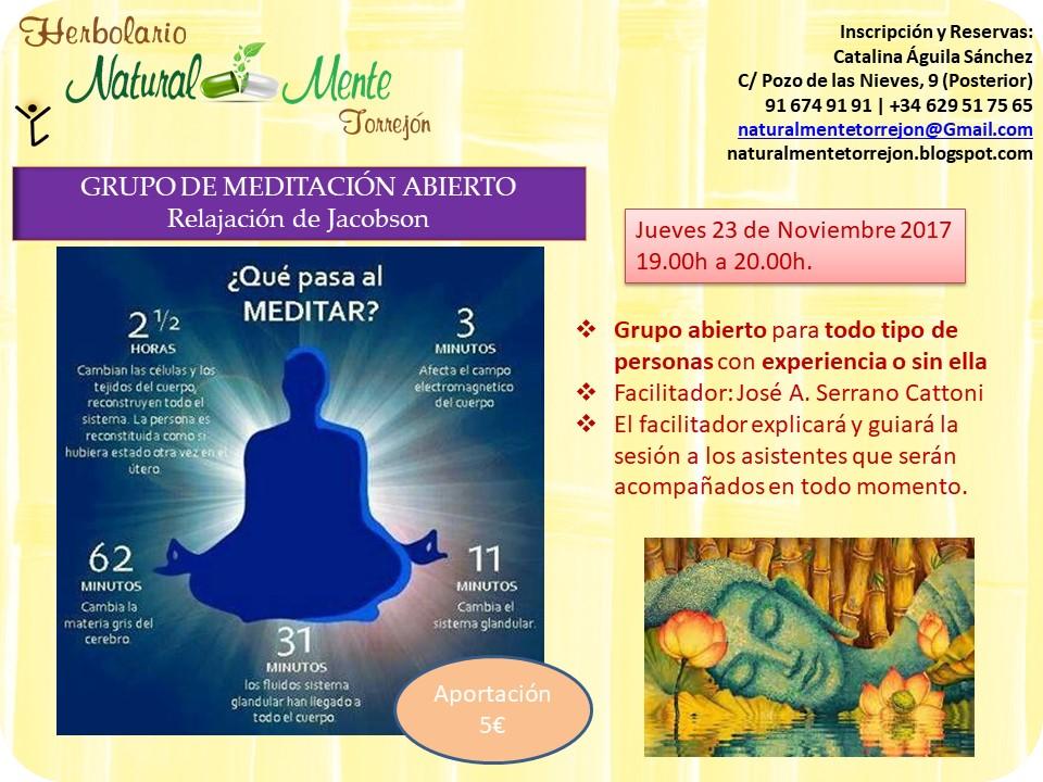 grupo meditación