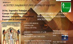 CURSO ACEITES SAGRADOS EGIPCIOS