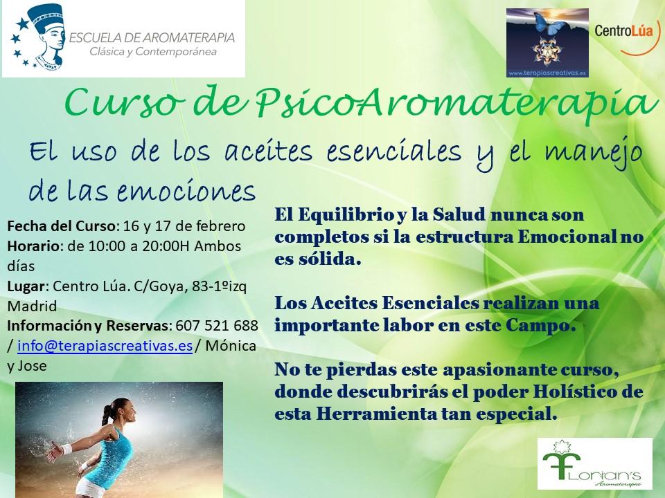 Curso de PsicoAromaterapia 16y17-02-2019