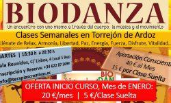 Biodanza Torrejon Ardoz-Oferta Enero