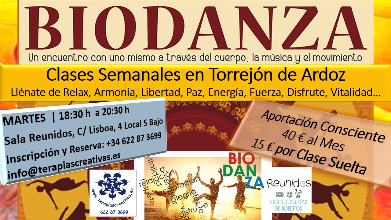 Biodanza Torrejon Ardoz