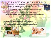 curso masaje aromaterapia