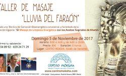 Curso Masaje LLuvia Faraón